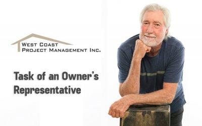 Tasks of an Owner's Representative