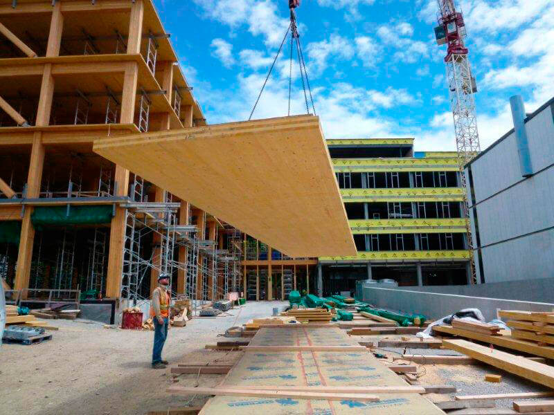 The Slow Global Uprising of Cross-Laminated Timber in Construction
